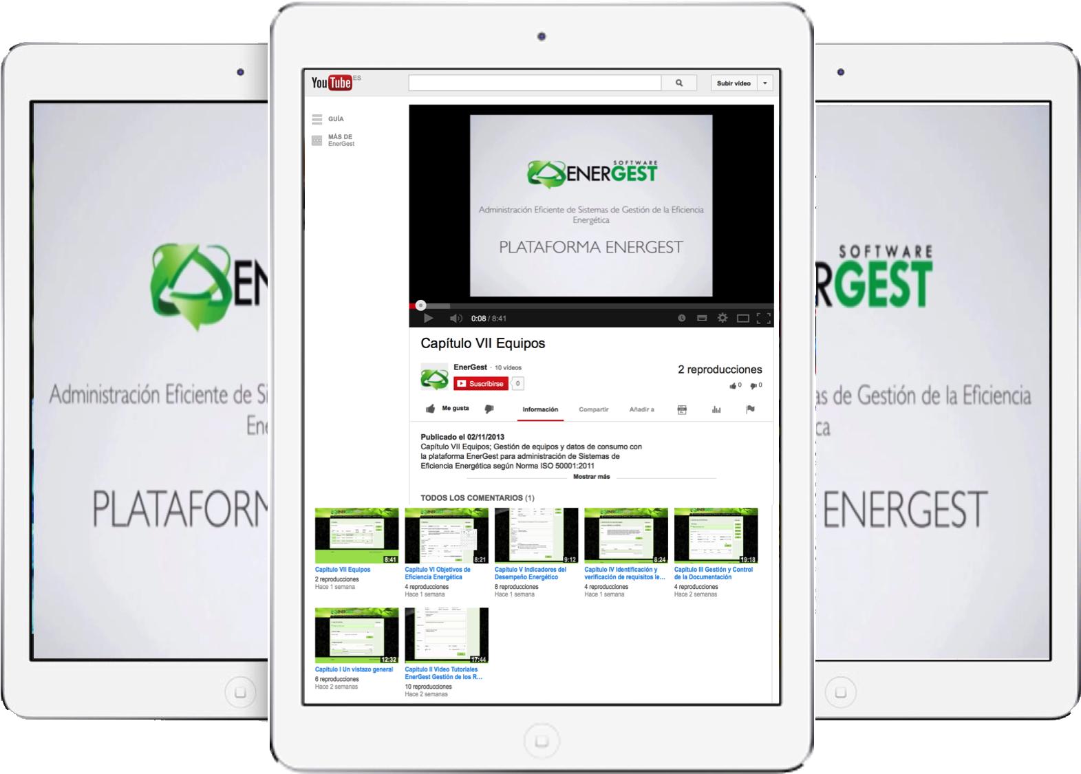Ppal Videotutoriales EnerGest
